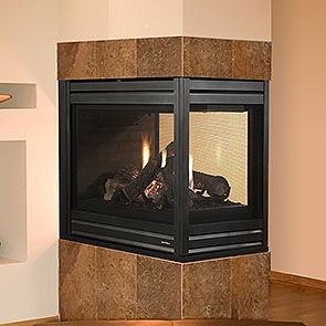Gas Multi-Sided Fireplaces