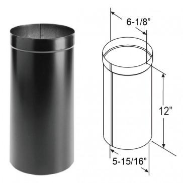 Duravent Durablack Oval To Round Adapter 1675