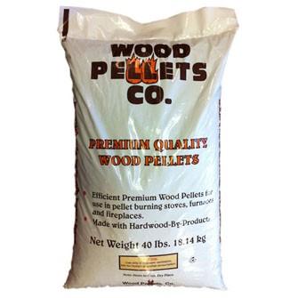 Premium Hardwood Pellets 1 Ton
