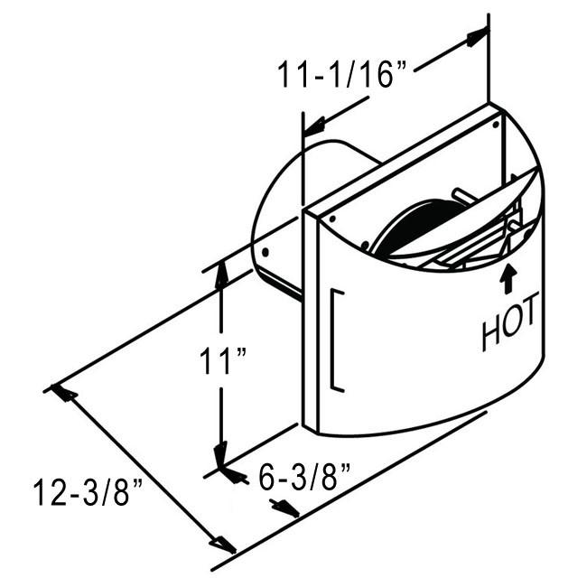 Duravent Directvent Pro High Wind Sconce Termination Cap