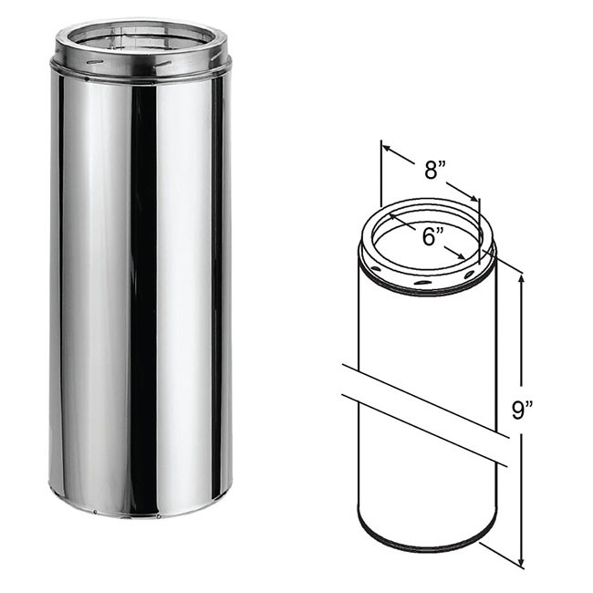 Duratech stainless steel chimney pipe quot