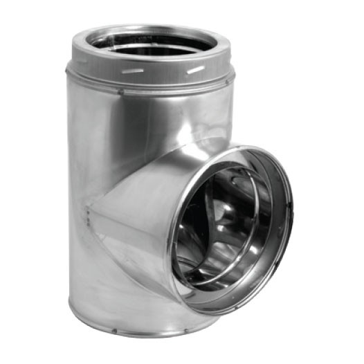 Duratech Stainless Steel Tee W Cap 6 Quot 9475ss