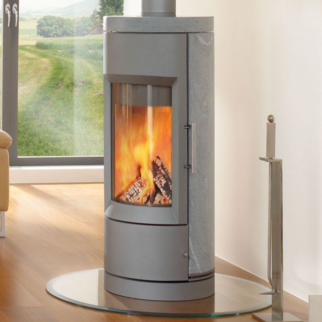 ... Wood Stoves; Hearthstone Bari. Hearthstone Bari - Silver Gray  w/Soapstone - Hearthstone Bari Contemporary Wood Stove