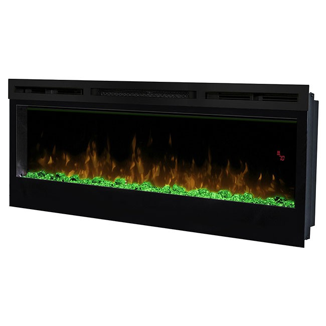 prism series 50 quot wall mount electric fireplace