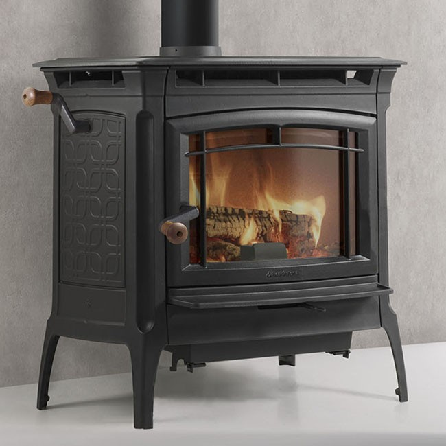 Hearthstone Manchester Wood Stove - Matte Black - Hearthstone Manchester