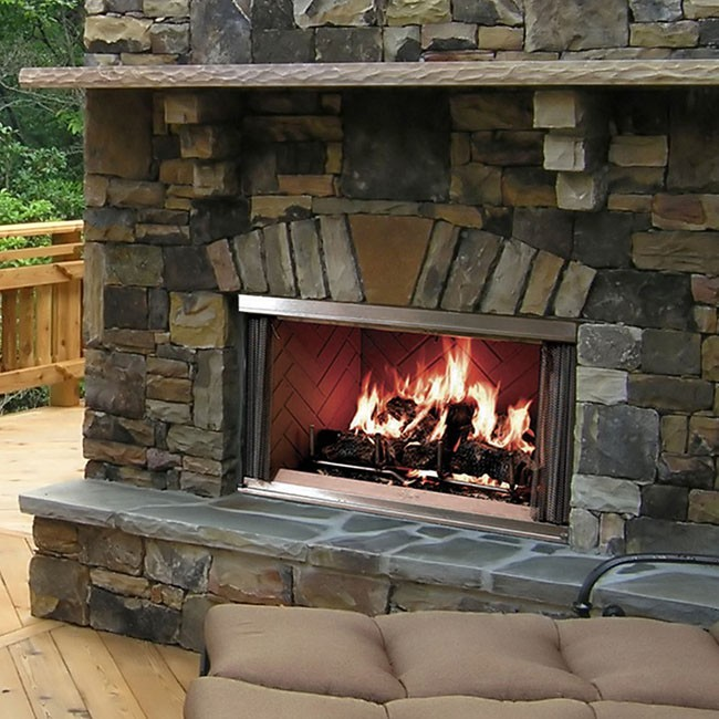 Outdoor Fireplaces - Fireplaces - Products