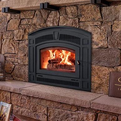 Pearl Wood Fireplace