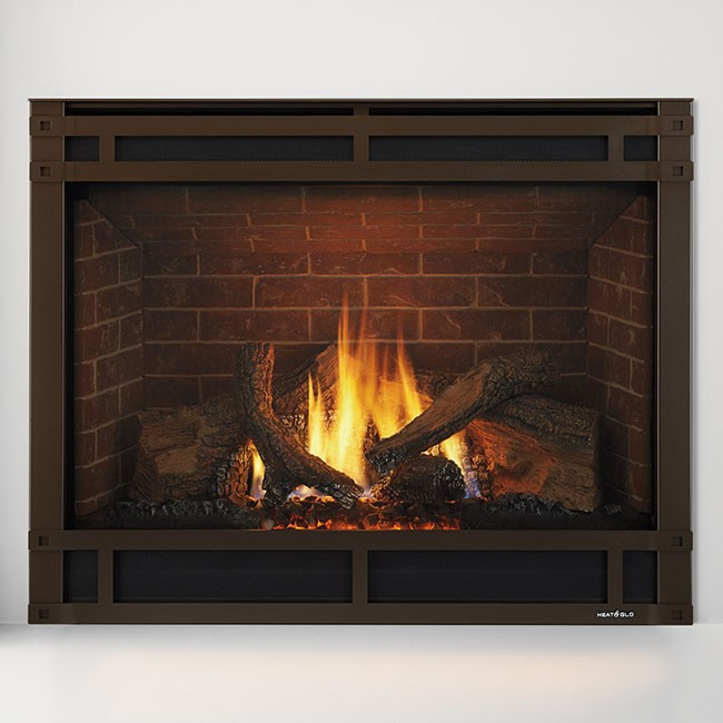 Glowing Embers Gas Fireplace Fireplaces