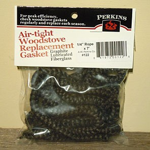 "A.W. Perkins #122 1/4"" x 7' Rope Gasket"