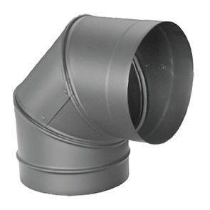 DuraVent DuraBlack 90 Degree Elbow 1690