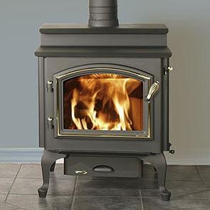 Quadra-Fire 4300 Step Top Wood Burning Stove