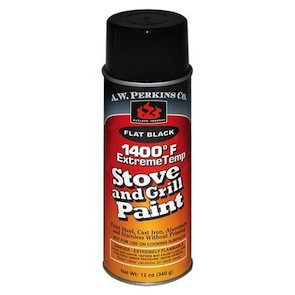 Stove Paint - Black 12oz