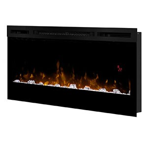 "Prism Series 34"" Wall-Mount Electric Fireplace"
