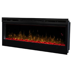"Prism Series 50"" Wall-Mount Electric Fireplace"