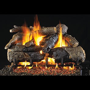 realfyre Charred American Oak Gas Log Set