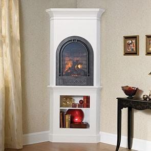 Heat & Glo Crescent II Gas Fireplace