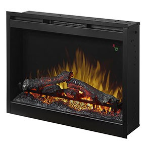 "Dimplex 26"" Plug-In Electric Firebox w/Logs"