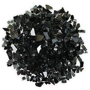 Ebony Reflective Glass – 5 Pound Bag
