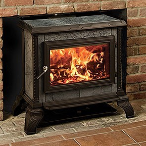 Hearthstone Homestead Freestanding Wood Stove - Matte Black