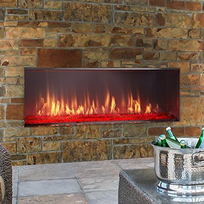 Lanai Outdoor Gas Fireplace