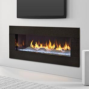 Heat & Glo PRIMO with Black Granite Surround and Interior