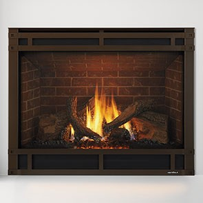 Heat & Glo SlimLine 9 Gas Fireplace