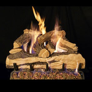realfyre Split Oak Designer Plus Gas Log Set