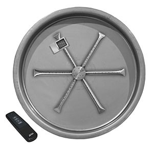 Stainless Steel Round Pan Burner System (TFS)