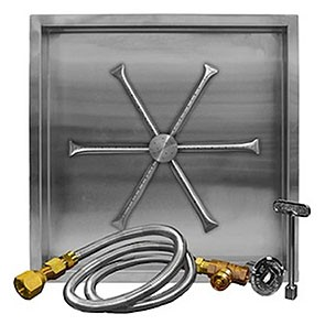 Stainless Steel Square Pan Burner System (MT)