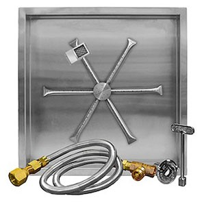Stainless Steel Square Pan Burner System (TMS-NG)