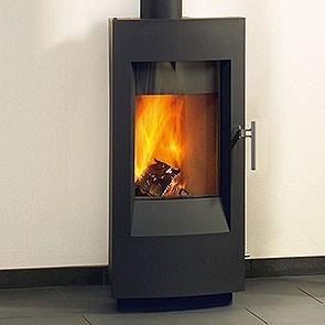 Hearthstone Tula Wood Stove - Charcoal Matte