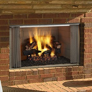 Heat & Glo Villawood-36 Wood Fireplace Decorative