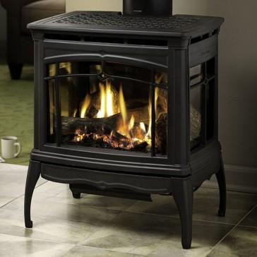 Hearthstone Bristol Gas Stove - Matte Black
