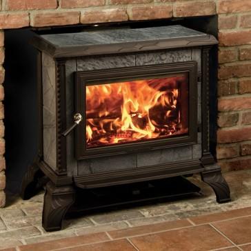 Hearthstone Homestead Freestanding Wood Stove - Matte Black