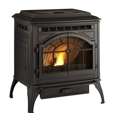 Quadra-Fire Mount Vernon AE Stove - Matte Black