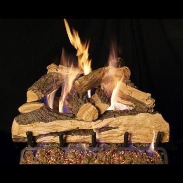 realfyre Split Oak Designer Plus Gas Log Set