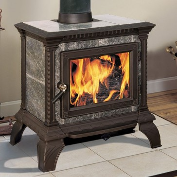 Hearthstone Tribute 8040 Wood Stove - Black Matte