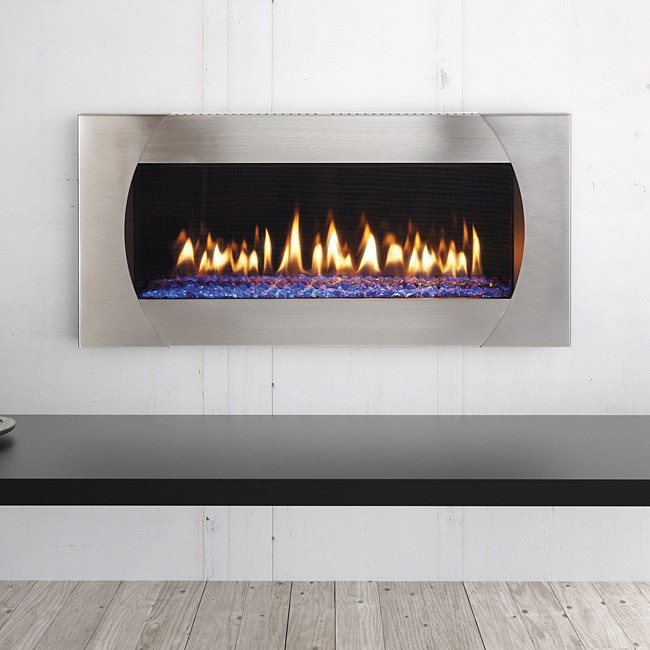 Attrayant Heat U0026 Glo MEZZO 60 Gas Fireplace With Quattro Front