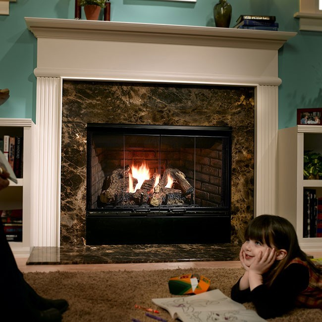 Superb Heatilator Direct Vent Gas Fireplace Part - 9: Heatilator Reveal 42 Gas Fireplace