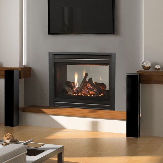 Charming Heat U0026 Glo See Through ST36 Gas Fireplace