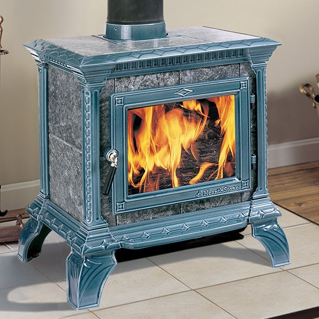 Hearthstone Tribute 8040 Wood Stove Seafoam Enamel