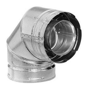 DuraVent DirectVent Pro 90 Degree Elbow Galvanized 46DVA-E90