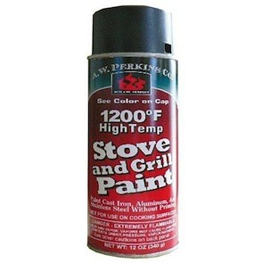 Stove Paint - Satin Black 12oz