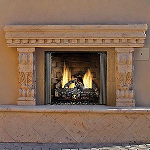 Heat & Glo Outdoor Lifestyles Carolina 42 Gas Fireplace