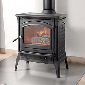 Hearthstone Craftsbury Wood Stove - Matte Black