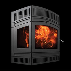 RSF Delta Fusion Wood Fireplace
