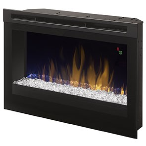 "Dimplex 25"" Plug-In Electric Firebox w/Acrylic Ice"