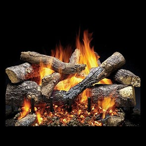 Heat & Glo Fireside Grand Oak Gas Log Set