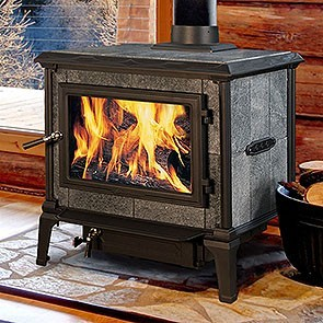 Hearthstone Mansfield Wood Stove - Matte Black