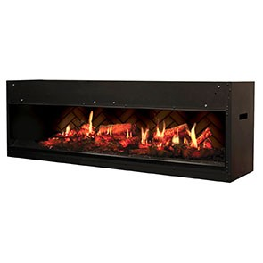 "Dimplex Opti-V Duet 54"" Built-in Firebox"